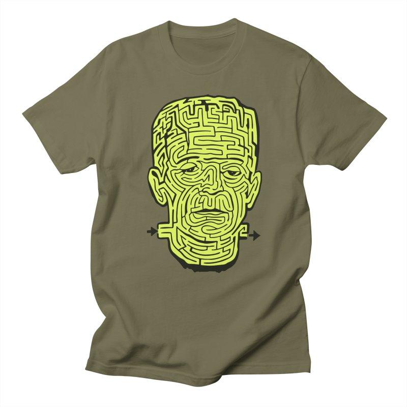 The Frankenmaze Men's Regular T-Shirt by mostro's Artist Shop