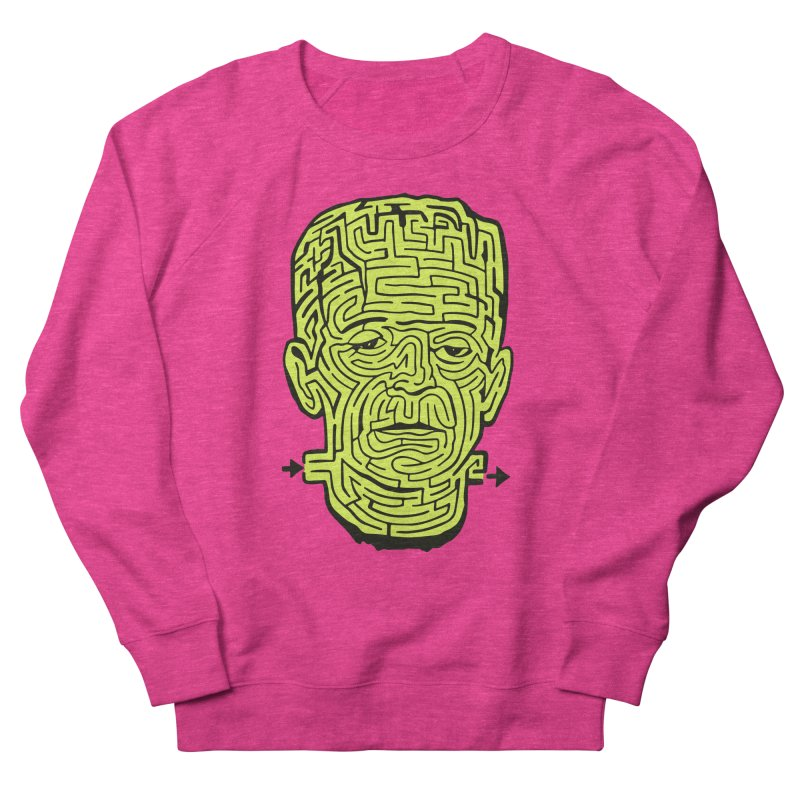 The Frankenmaze Women's French Terry Sweatshirt by mostro's Artist Shop