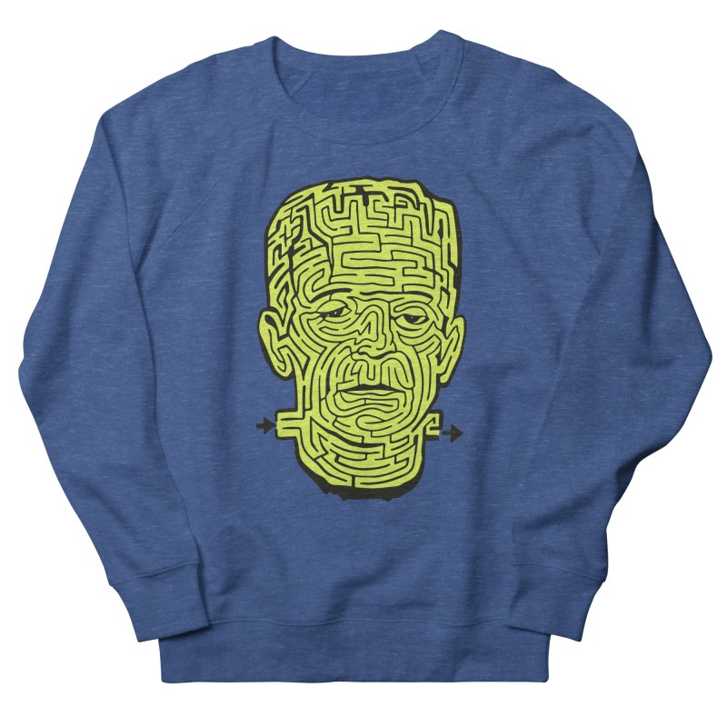 The Frankenmaze Men's French Terry Sweatshirt by mostro's Artist Shop