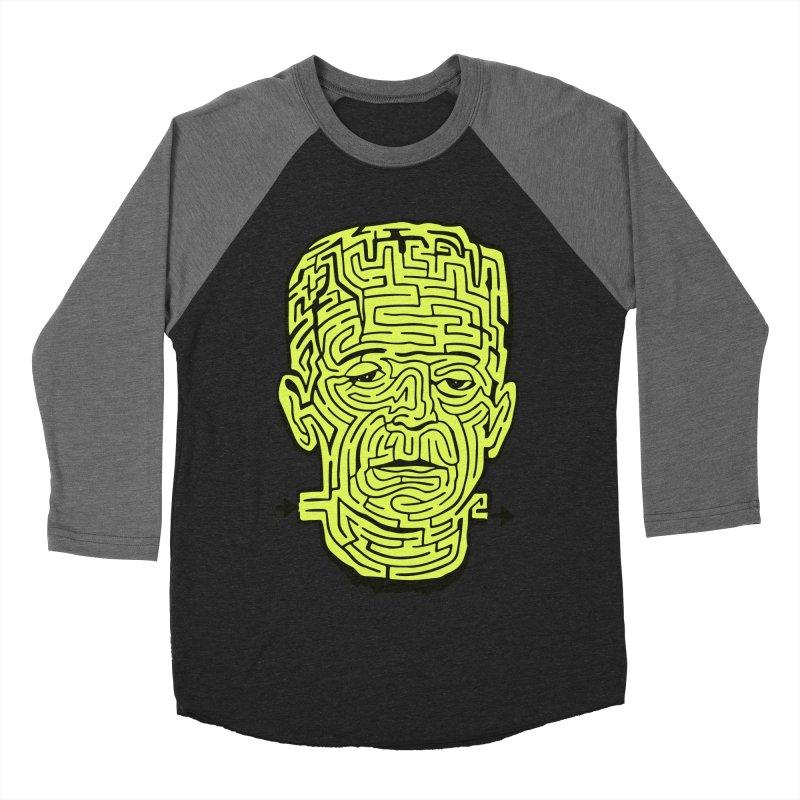 The Frankenmaze Women's Baseball Triblend Longsleeve T-Shirt by mostro's Artist Shop