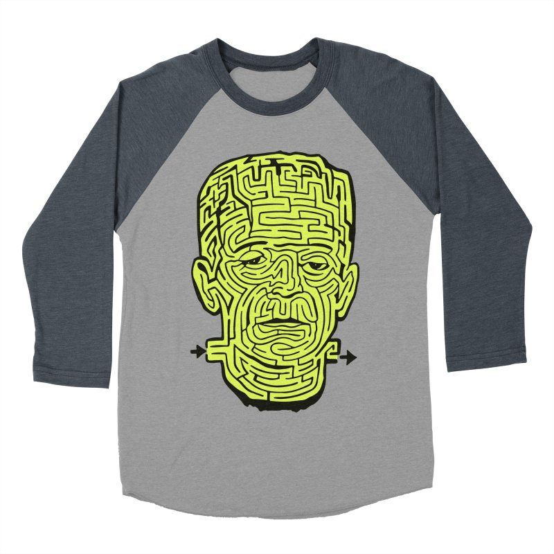The Frankenmaze Women's Baseball Triblend Longsleeve T-Shirt by mostro's Artist Shop