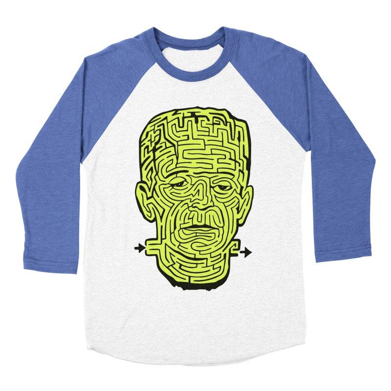 The Frankenmaze Men's Baseball Triblend T-Shirt by mostro's Artist Shop