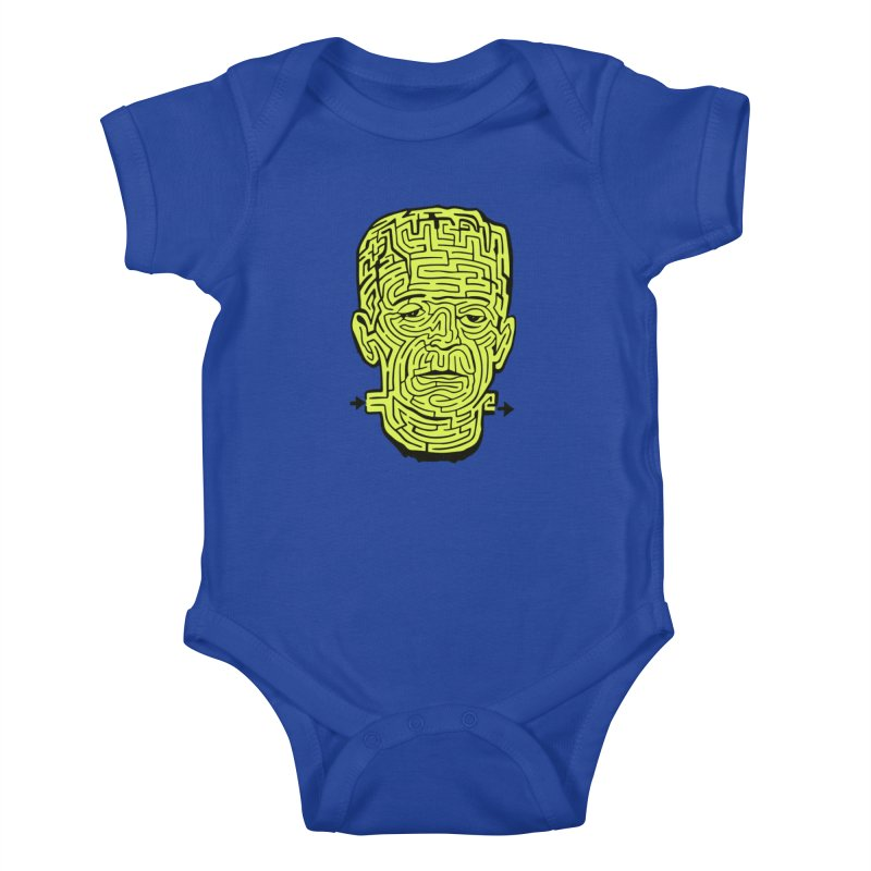 The Frankenmaze Kids Baby Bodysuit by mostro's Artist Shop