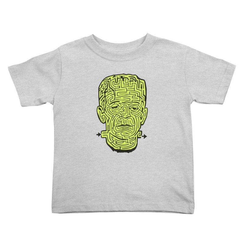 The Frankenmaze Kids Toddler T-Shirt by mostro's Artist Shop