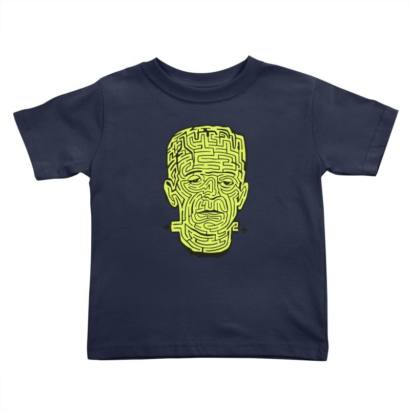The Frankenmaze Kids Toddler T-Shirt by mostro's Artist Shop