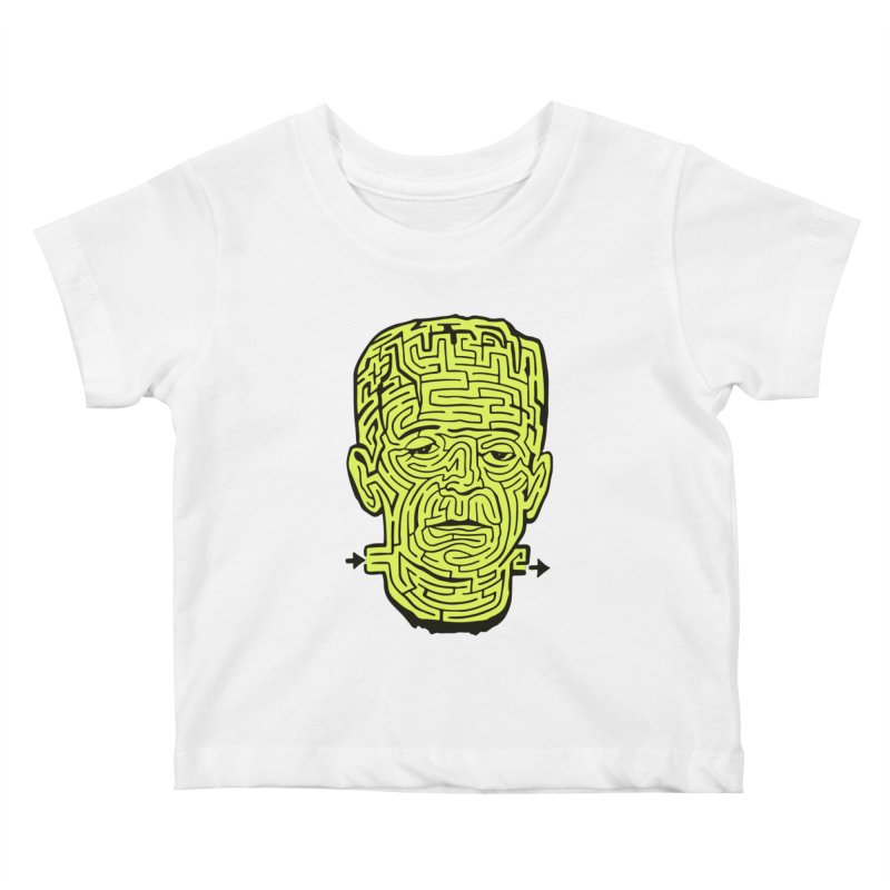 The Frankenmaze Kids Baby T-Shirt by mostro's Artist Shop