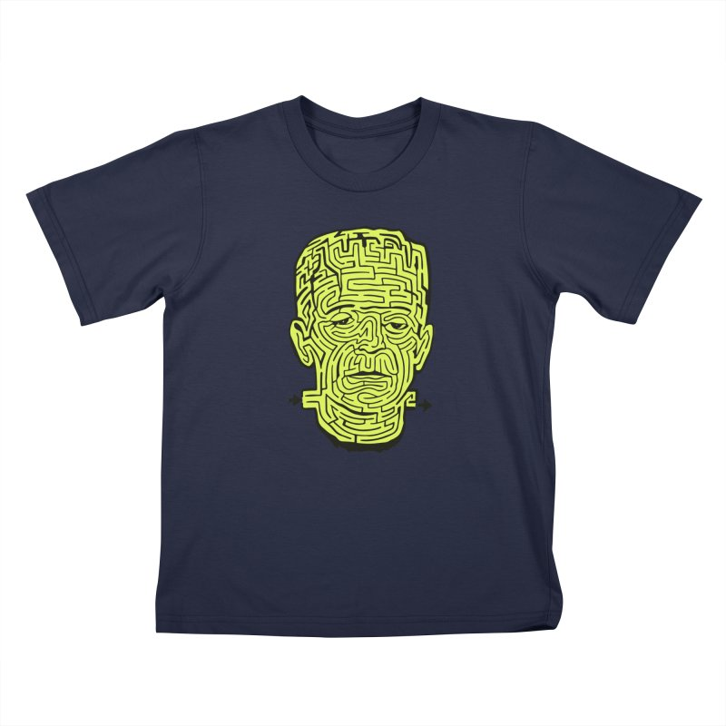 The Frankenmaze Kids T-Shirt by mostro's Artist Shop