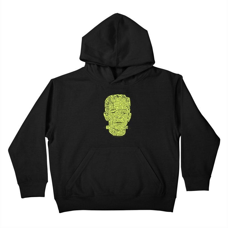 The Frankenmaze Kids Pullover Hoody by mostro's Artist Shop