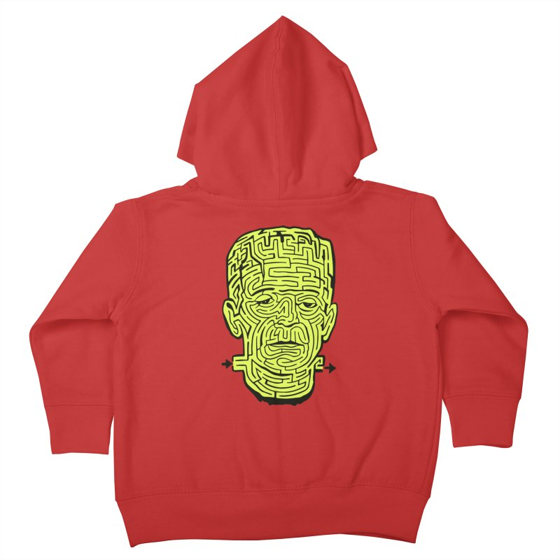 The Frankenmaze Kids Toddler Zip-Up Hoody by mostro's Artist Shop