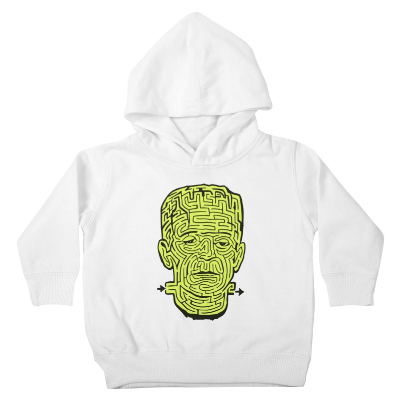 The Frankenmaze Kids Toddler Pullover Hoody by mostro's Artist Shop