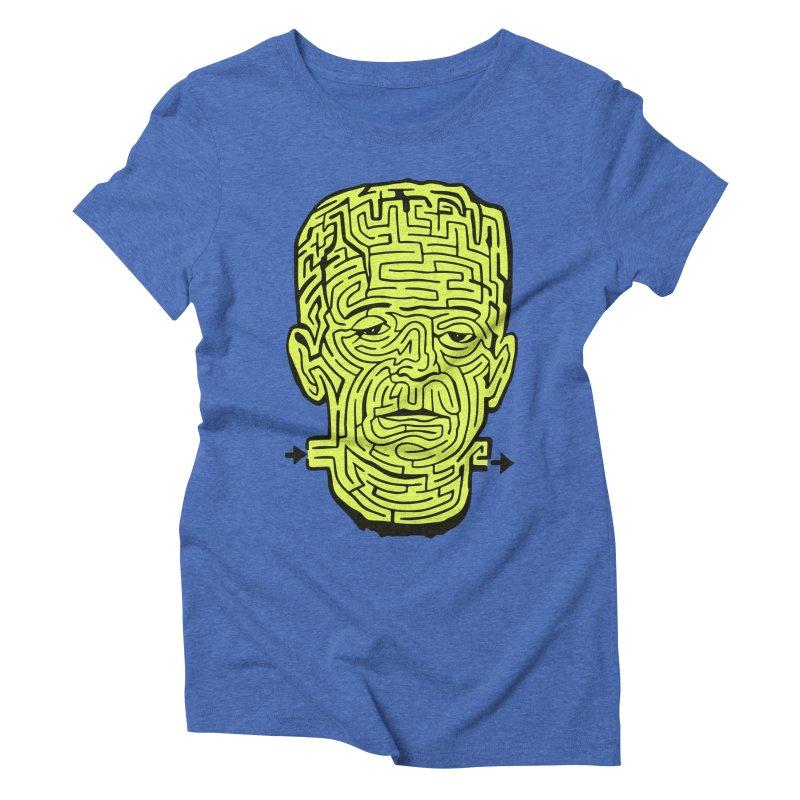 The Frankenmaze Women's Triblend T-Shirt by mostro's Artist Shop