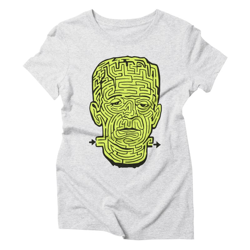 The Frankenmaze Women's Triblend T-Shirt by mostro's Artist Shop