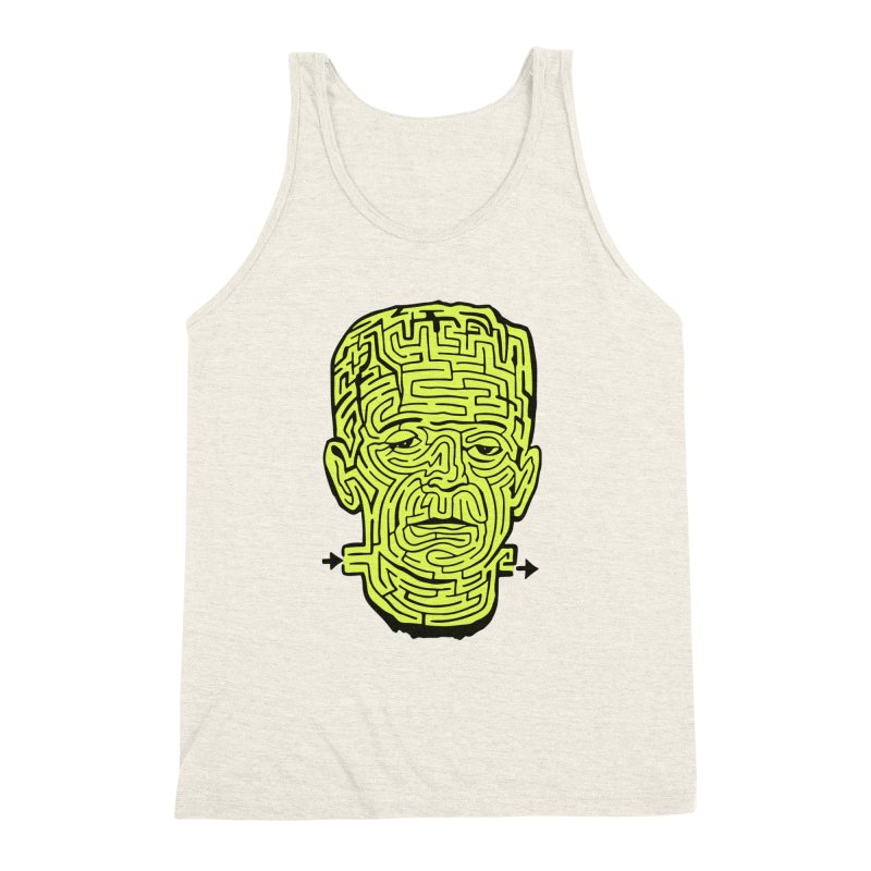 The Frankenmaze Men's Triblend Tank by mostro's Artist Shop