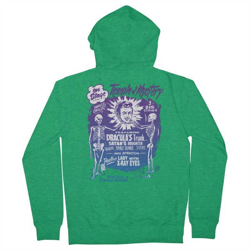 Temple of Mystery Men's Zip-Up Hoody by mostro's Artist Shop