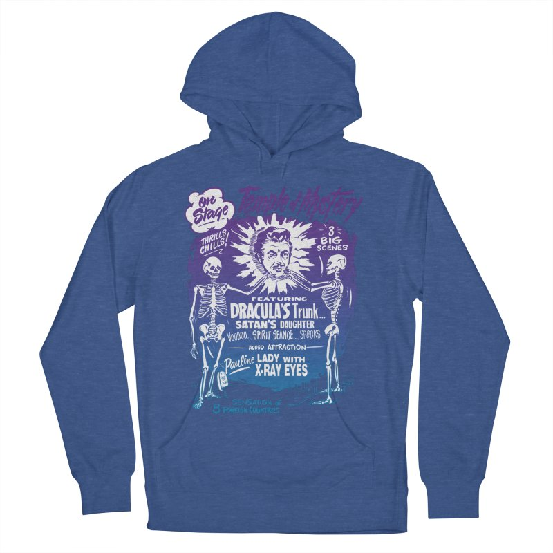 Temple of Mystery Women's French Terry Pullover Hoody by mostro's Artist Shop