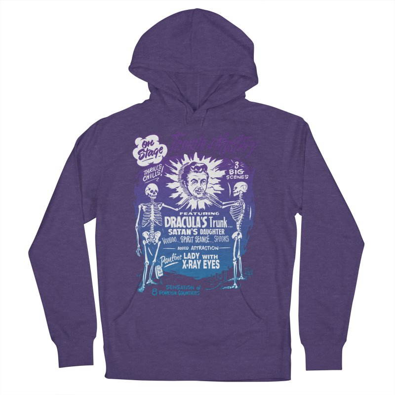 Temple of Mystery Men's French Terry Pullover Hoody by mostro's Artist Shop