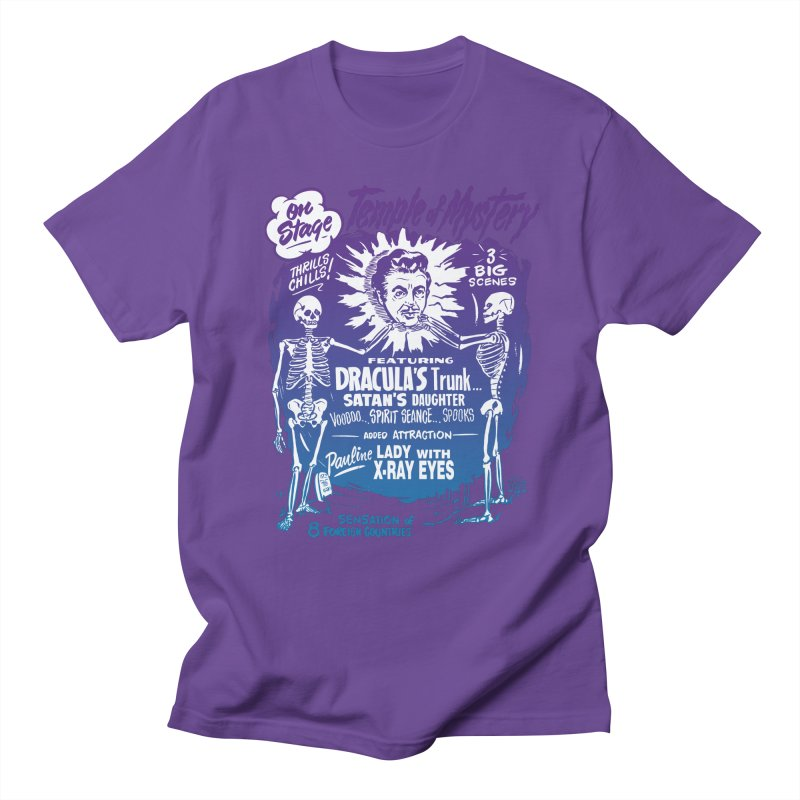 Temple of Mystery Men's Regular T-Shirt by mostro's Artist Shop