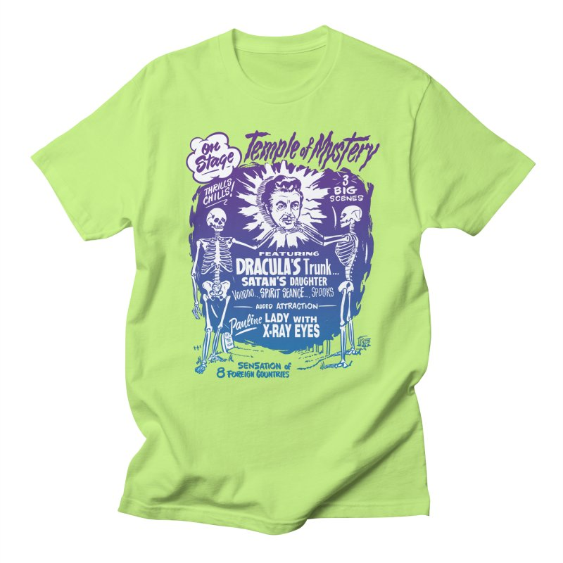 Temple of Mystery Men's T-shirt by mostro's Artist Shop