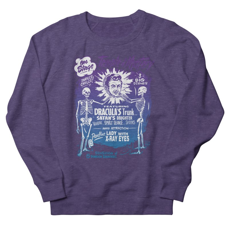 Temple of Mystery Women's French Terry Sweatshirt by mostro's Artist Shop