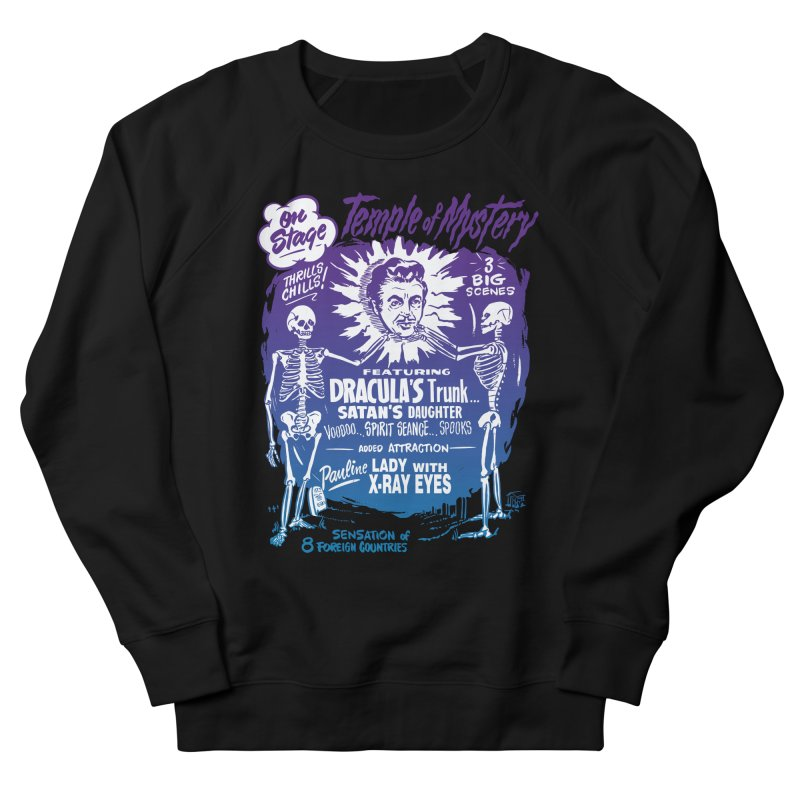 Temple of Mystery Men's French Terry Sweatshirt by mostro's Artist Shop
