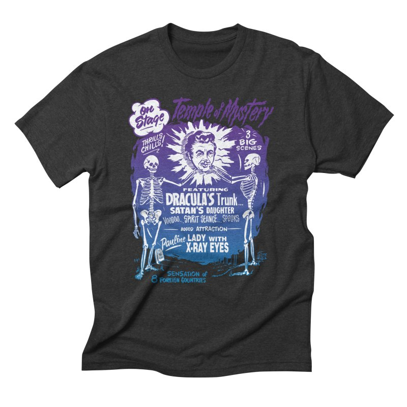 Temple of Mystery Men's Triblend T-Shirt by mostro's Artist Shop
