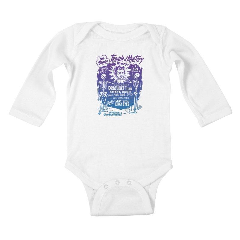 Temple of Mystery Kids Baby Longsleeve Bodysuit by mostro's Artist Shop