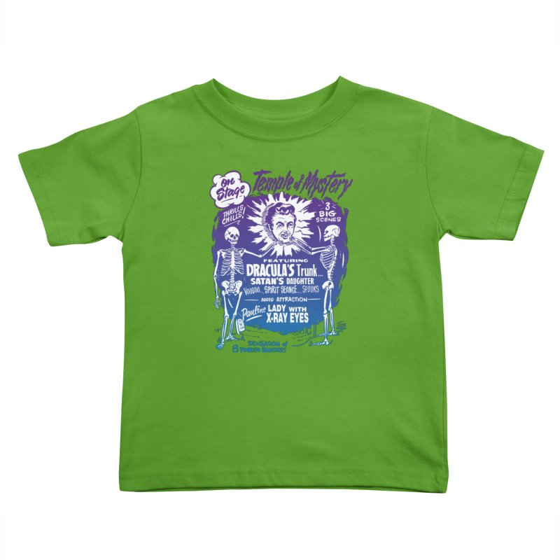 Temple of Mystery Kids Toddler T-Shirt by mostro's Artist Shop