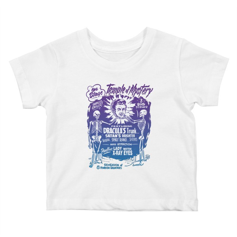 Temple of Mystery Kids Baby T-Shirt by mostro's Artist Shop