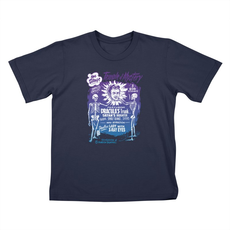 Temple of Mystery Kids T-Shirt by mostro's Artist Shop