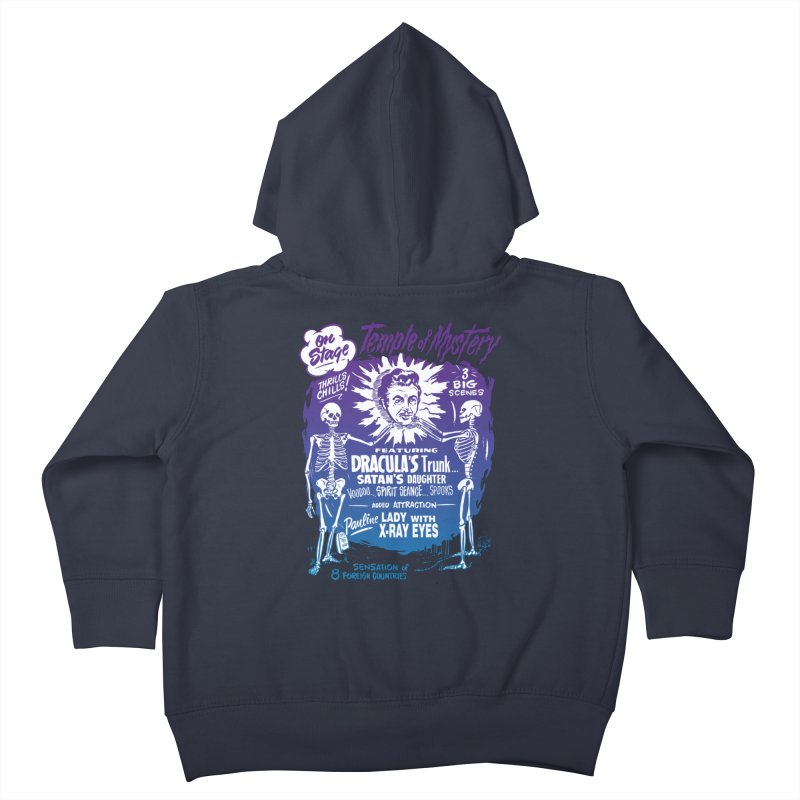 Temple of Mystery Kids Toddler Zip-Up Hoody by mostro's Artist Shop