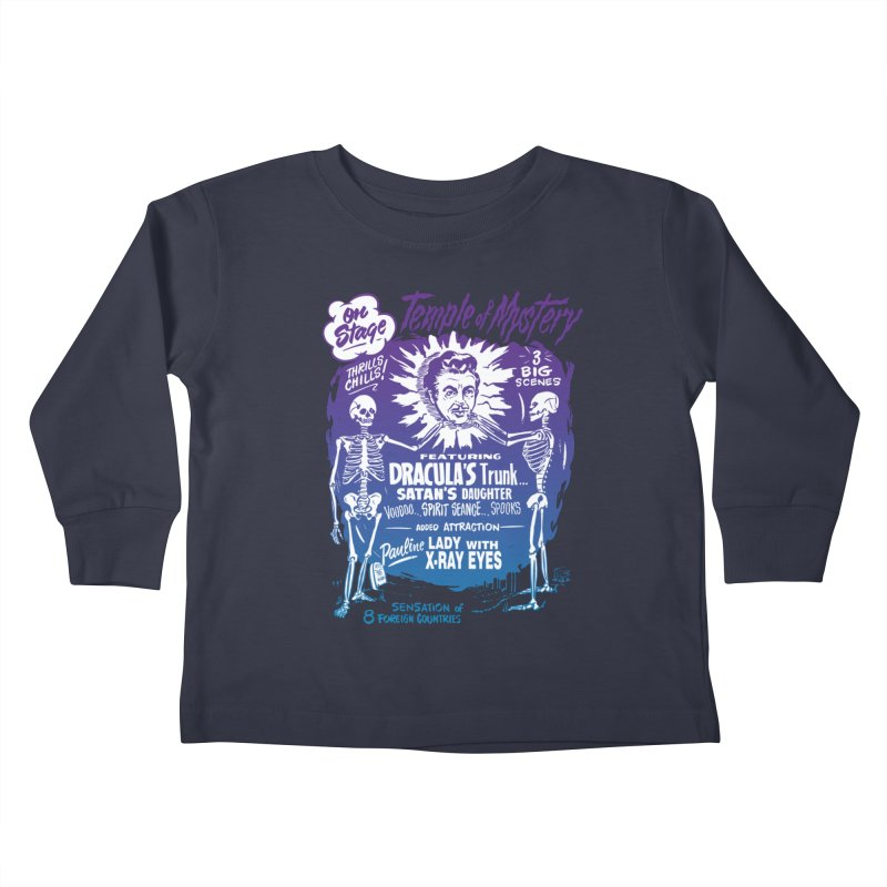Temple of Mystery Kids Toddler Longsleeve T-Shirt by mostro's Artist Shop