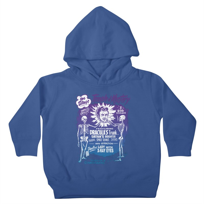 Temple of Mystery Kids Toddler Pullover Hoody by mostro's Artist Shop