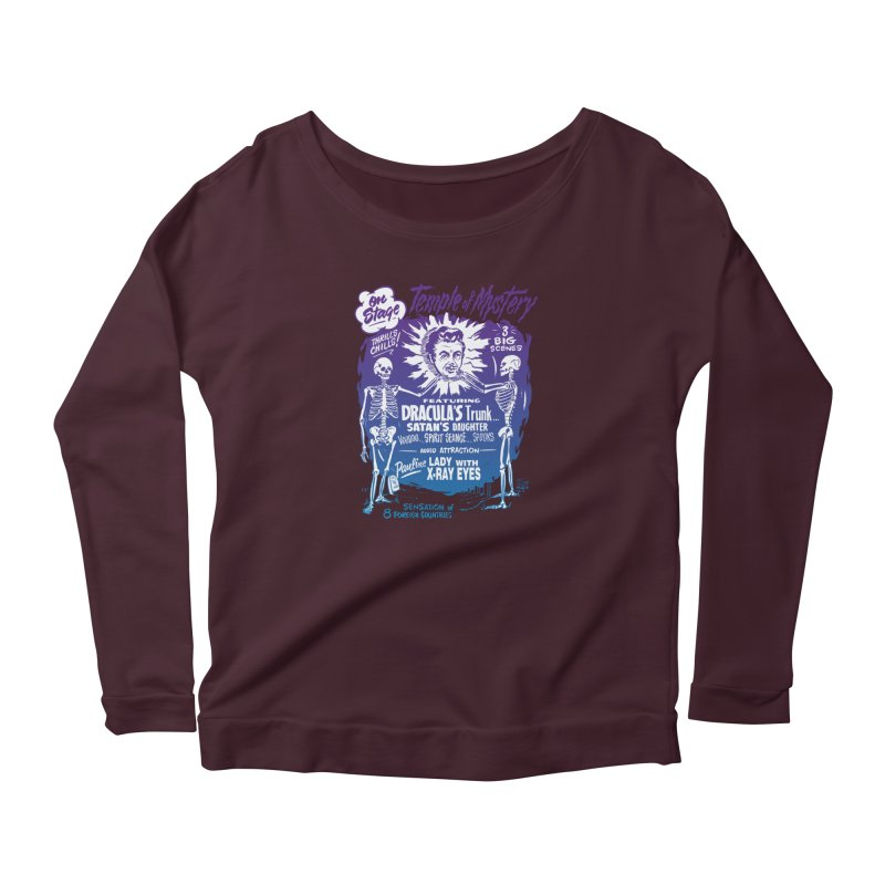 Temple of Mystery Women's Longsleeve T-Shirt by mostro's Artist Shop