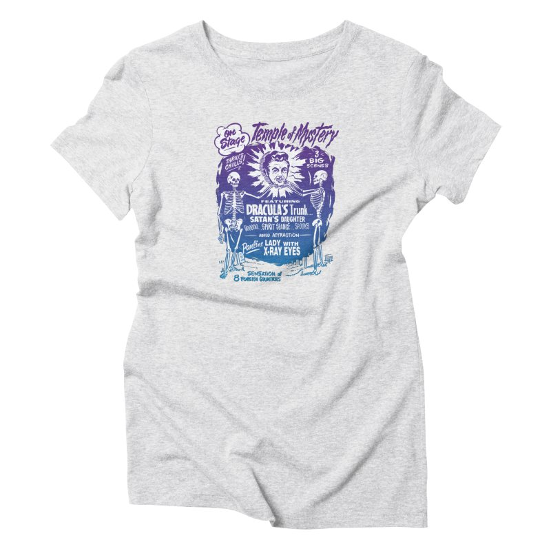 Temple of Mystery Women's T-Shirt by mostro's Artist Shop