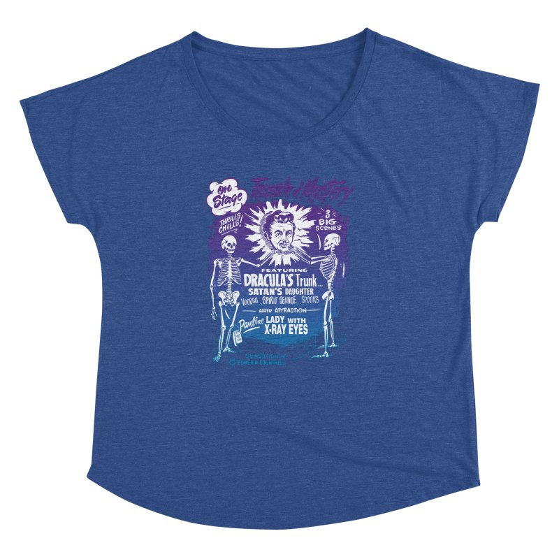 Temple of Mystery Women's Dolman Scoop Neck by mostro's Artist Shop