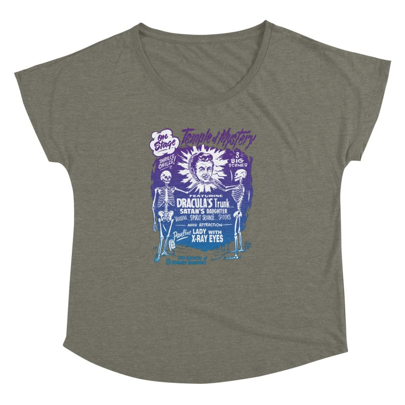 Temple of Mystery Women's Dolman by mostro's Artist Shop
