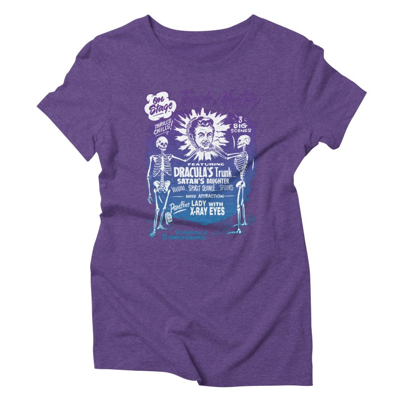 Temple of Mystery Women's Triblend T-Shirt by mostro's Artist Shop