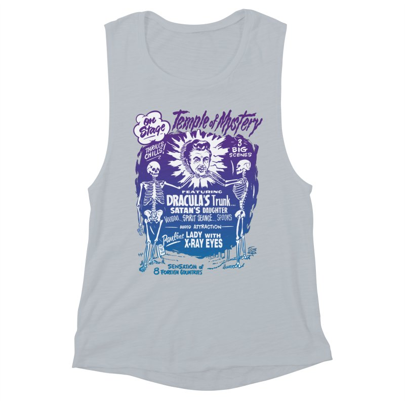 Temple of Mystery Women's Muscle Tank by mostro's Artist Shop