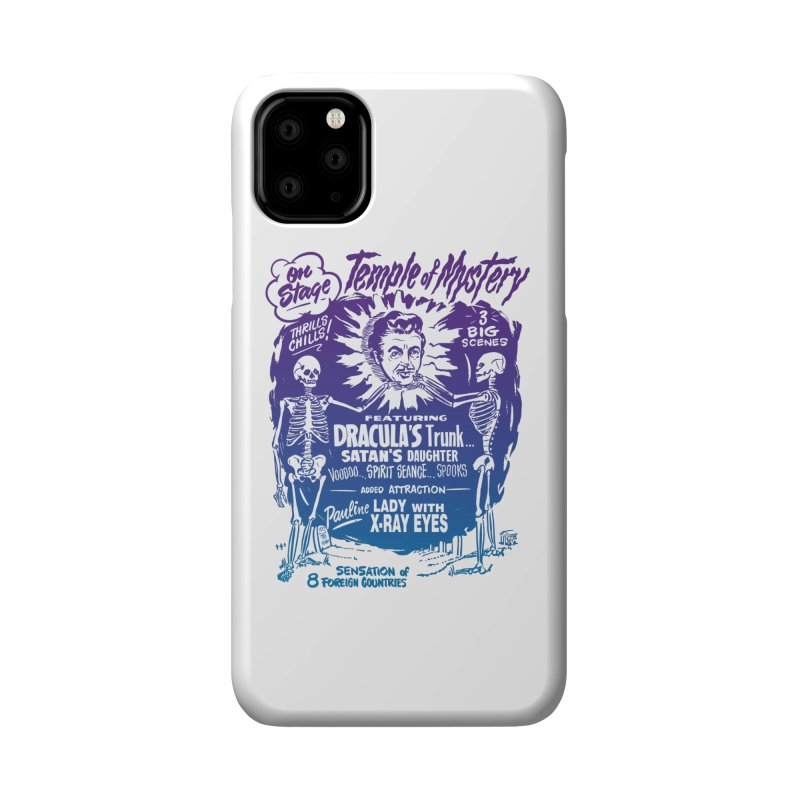 Temple of Mystery Accessories Phone Case by mostro's Artist Shop