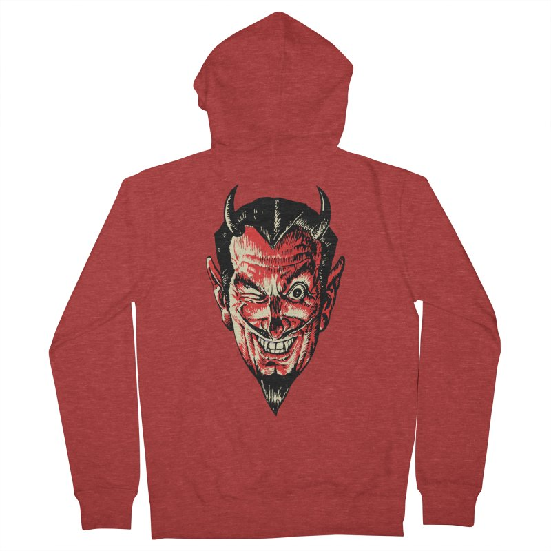 The Earl Deveel Men's French Terry Zip-Up Hoody by mostro's Artist Shop
