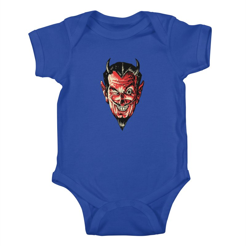 The Earl Deveel Kids Baby Bodysuit by mostro's Artist Shop