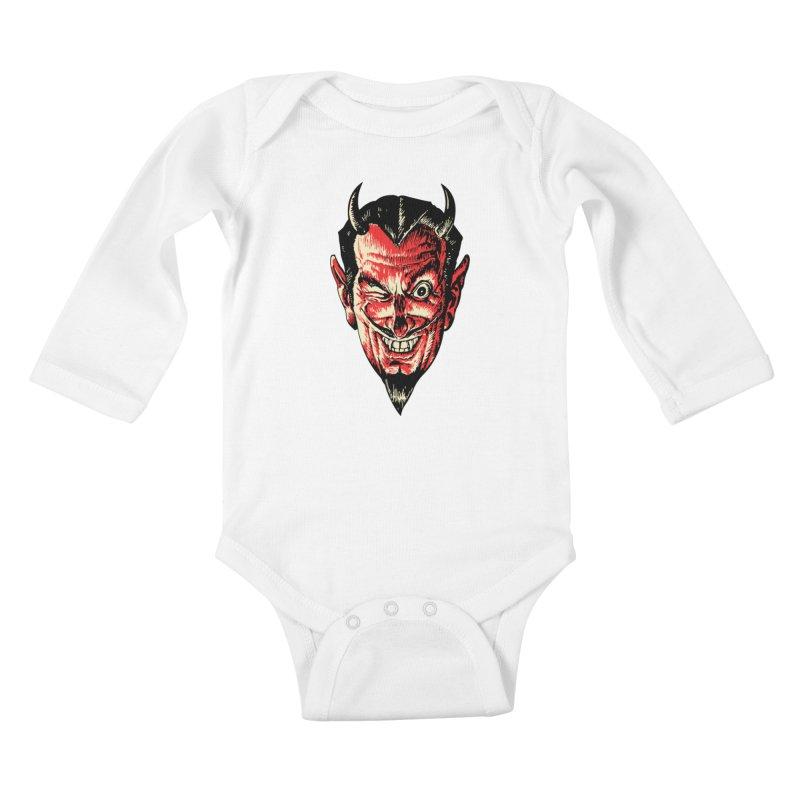 The Earl Deveel Kids Baby Longsleeve Bodysuit by mostro's Artist Shop