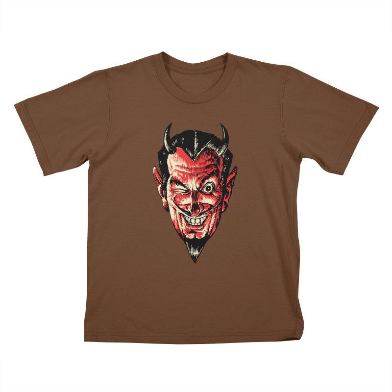 The Earl Deveel Kids T-Shirt by mostro's Artist Shop