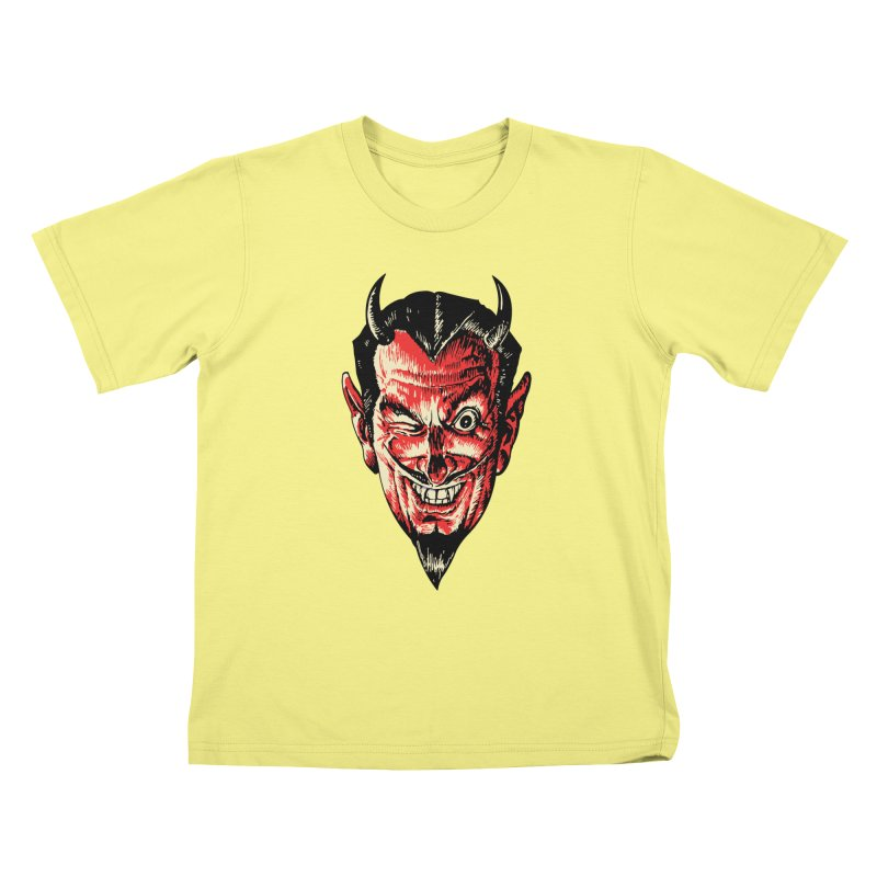 The Earl Deveel Kids T-shirt by mostro's Artist Shop
