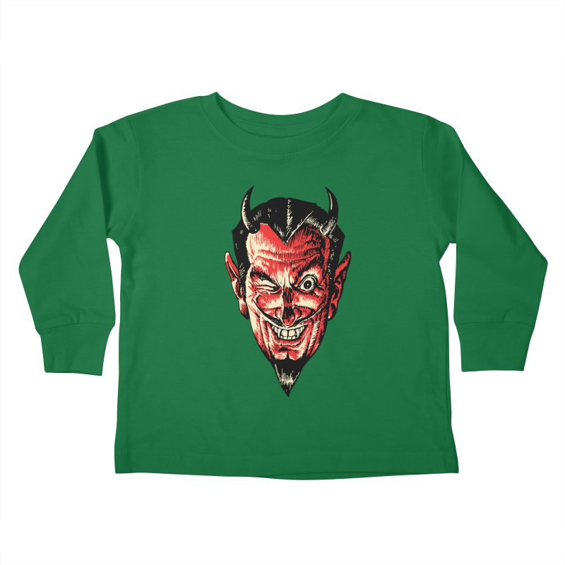 The Earl Deveel Kids Toddler Longsleeve T-Shirt by mostro's Artist Shop