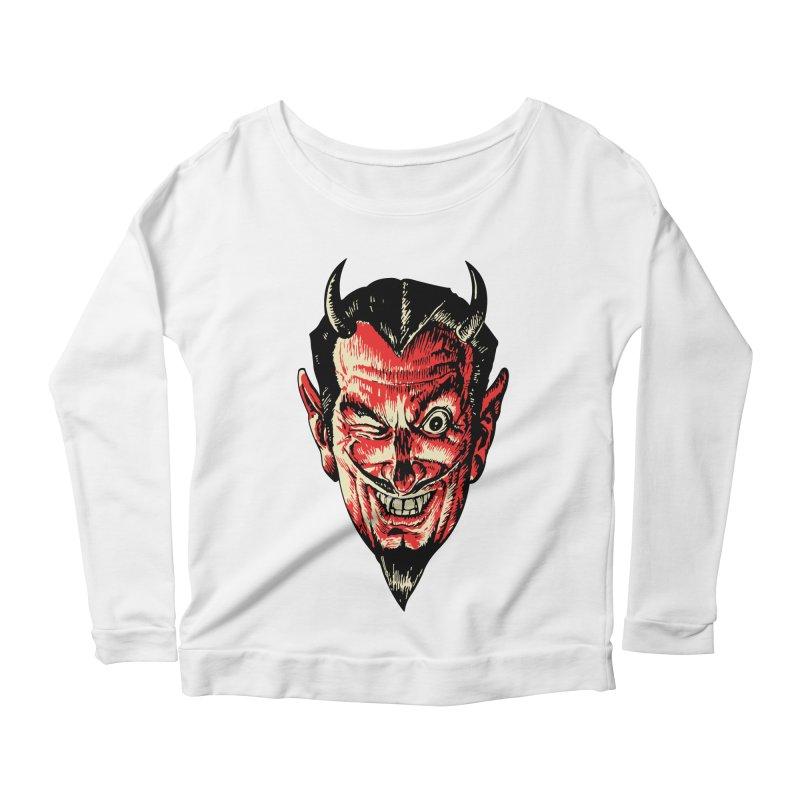 The Earl Deveel Women's Scoop Neck Longsleeve T-Shirt by mostro's Artist Shop