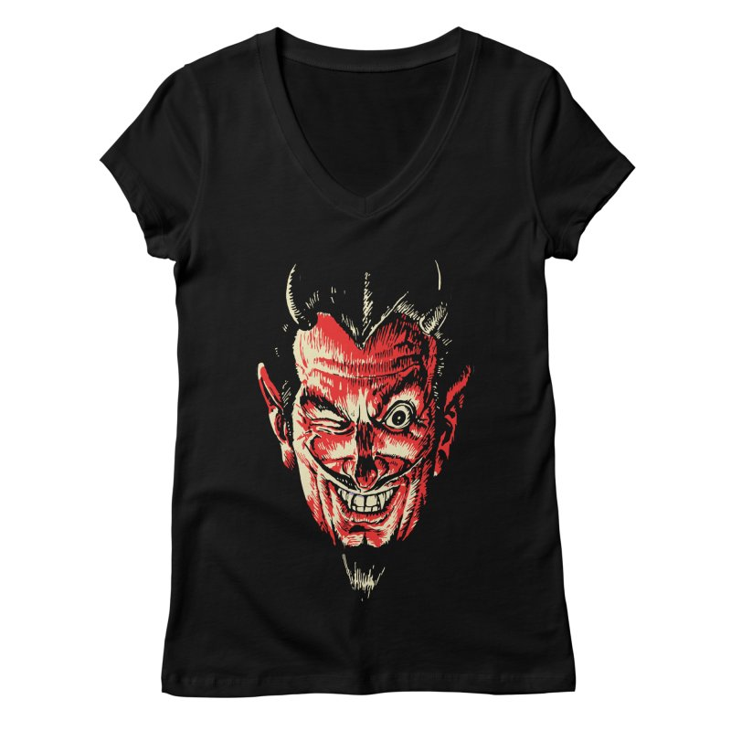 The Earl Deveel Women's Regular V-Neck by mostro's Artist Shop