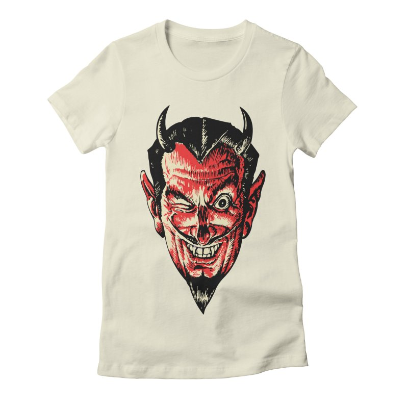 The Earl Deveel Women's Fitted T-Shirt by mostro's Artist Shop