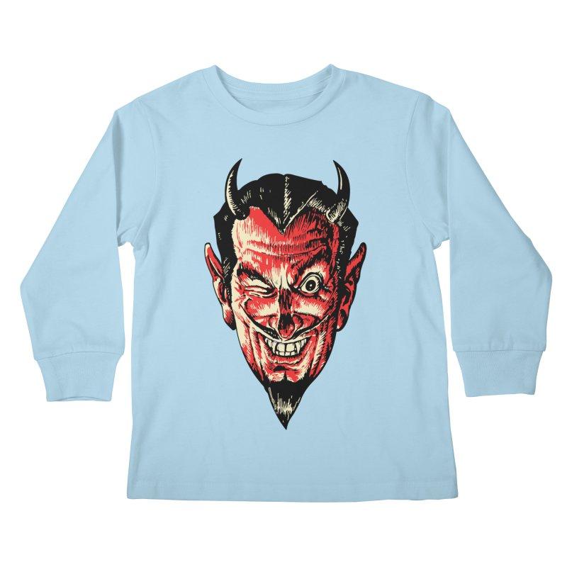 The Earl Deveel Kids Longsleeve T-Shirt by mostro's Artist Shop