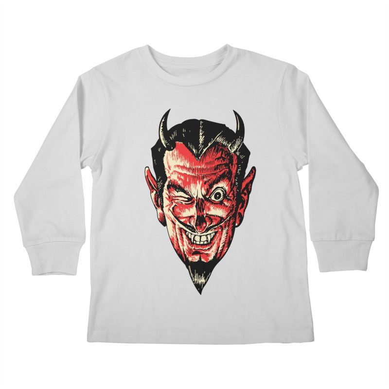 The Earl Deveel Kids Longsleeve T-Shirt by mostro's Artist Shop